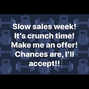 End of week sales push!!